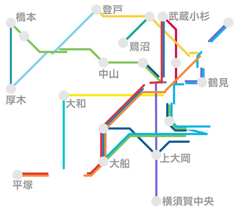 全体路線図